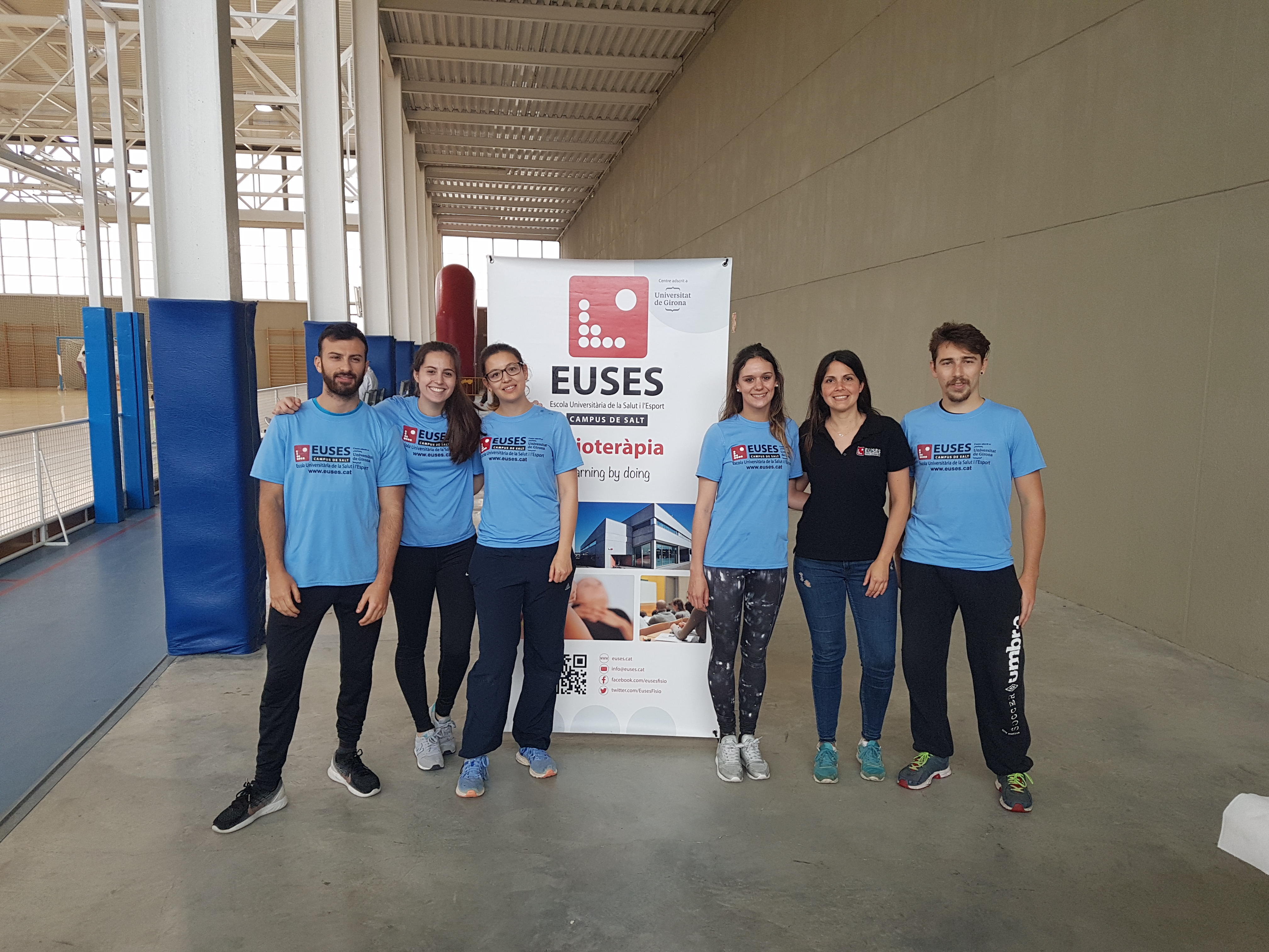 L'Escola Universitària de la Salut i l'Esport posa el seu gra de sorra en la cursa solidària de Primavera a Sant Julià de Ramis