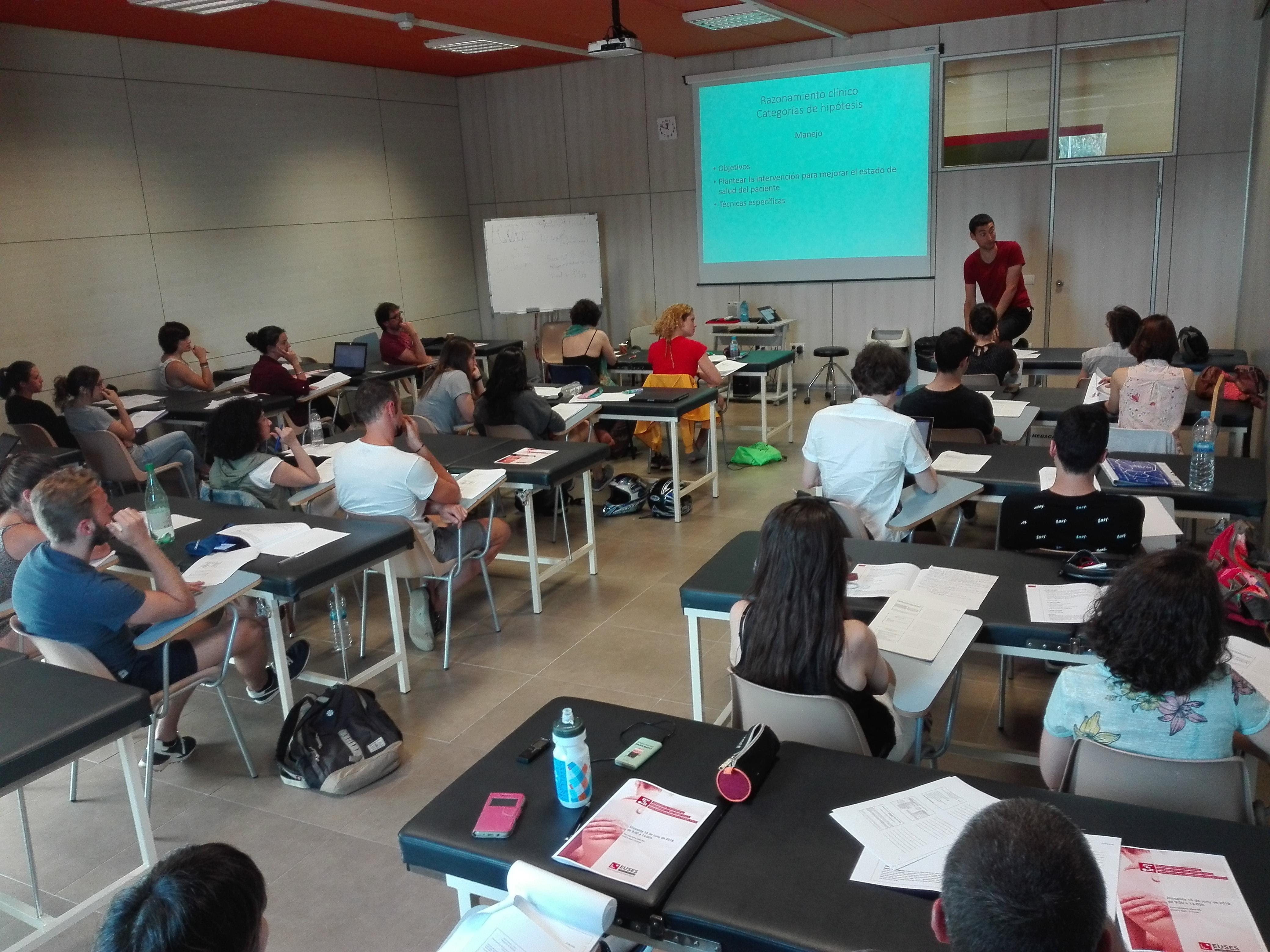El seminari de Raonament Clínic posa punt i final a les activitats de Formació Contínua en Fisioteràpia 2017/18 a EUSES
