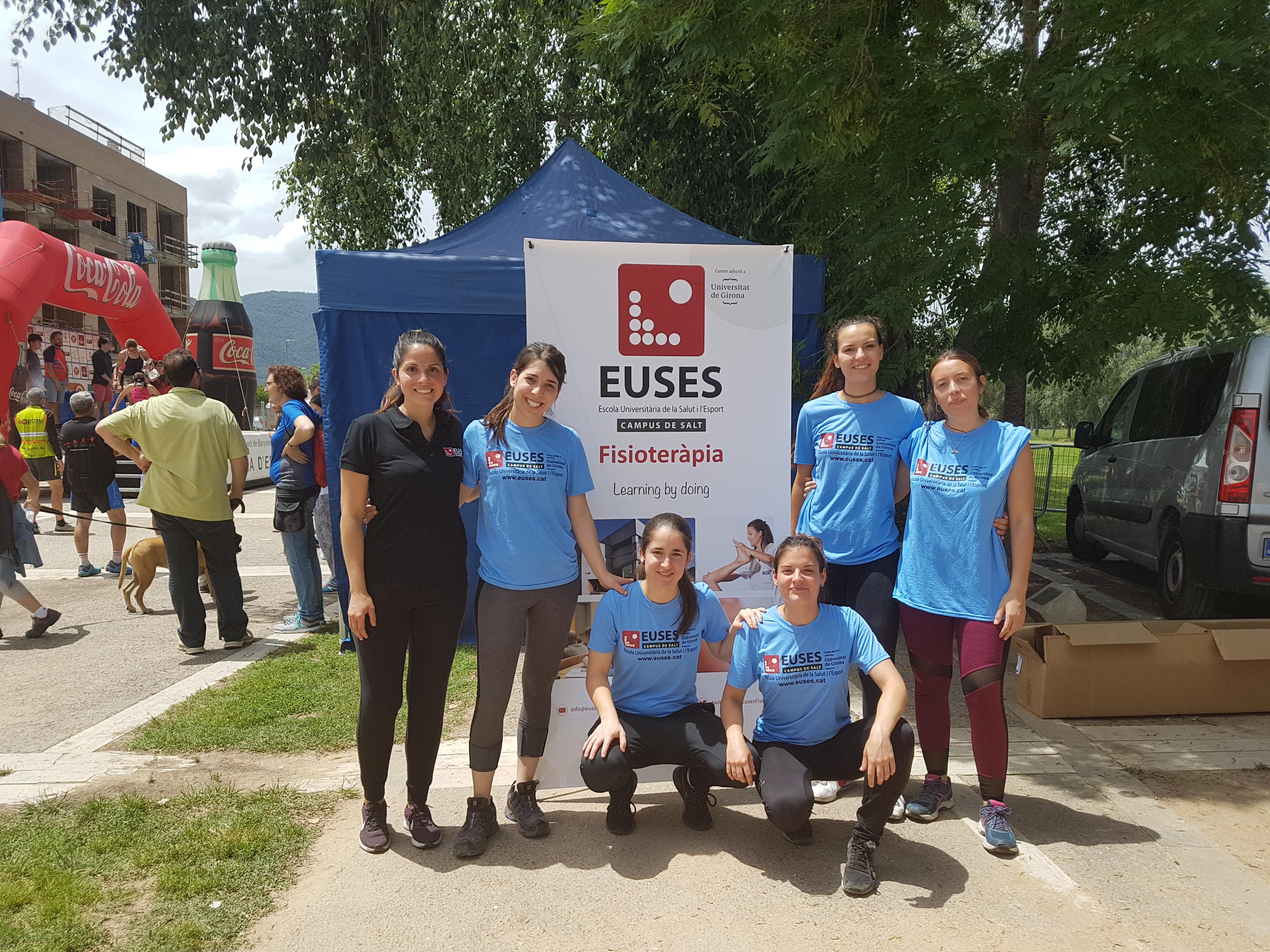 L'Escola Universitària de la Salut i l'Esport col·labora en una nova edició de la Triatló B de Banyoles