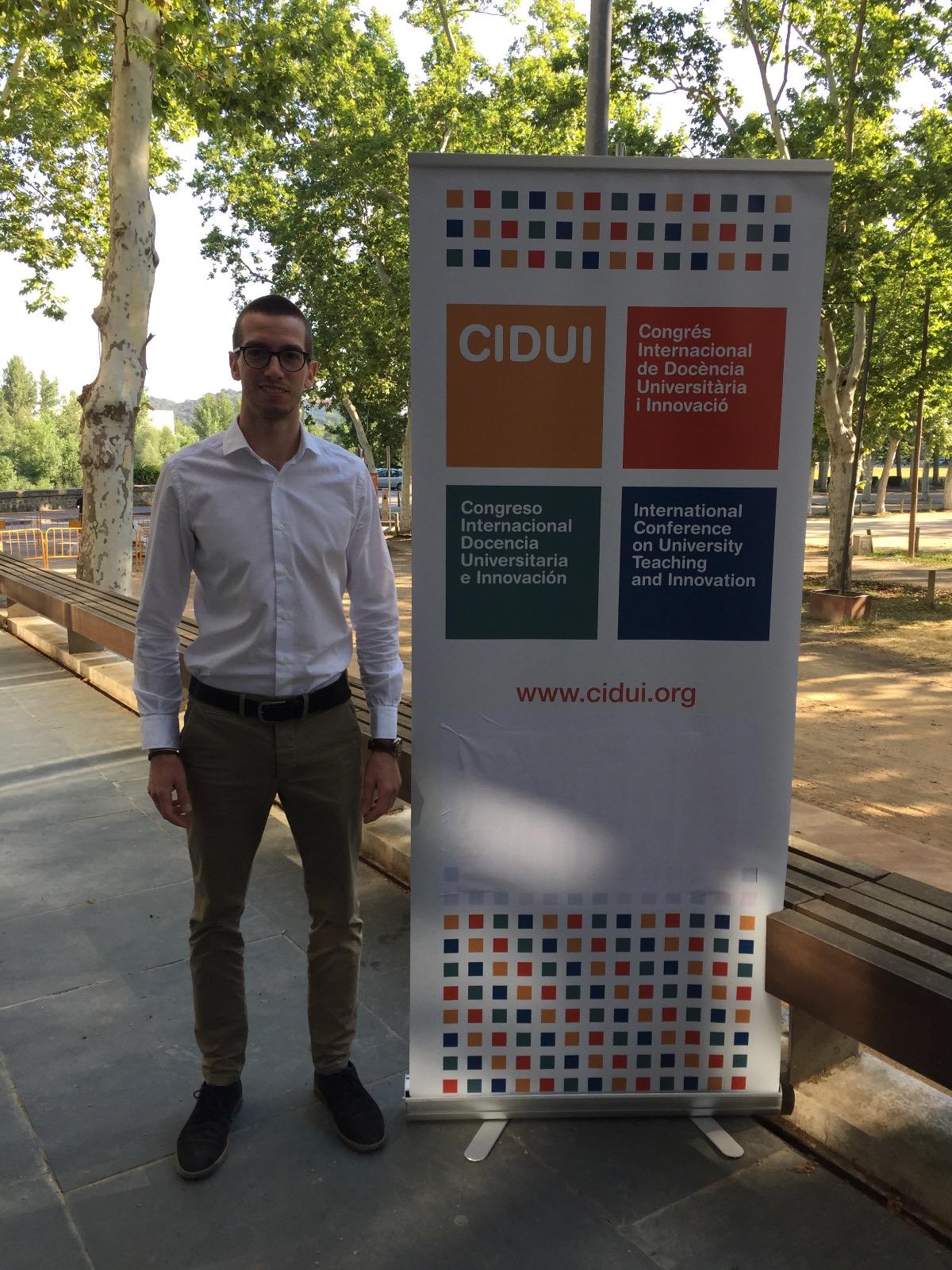 Joan Segur, professor i coordinador del Grau en Ciències de l'Activitat Física i de l'Esport, participa en dues sessions monogràfiques del Congrés Internacional d'Innovació Docent (CIDUI2018)
