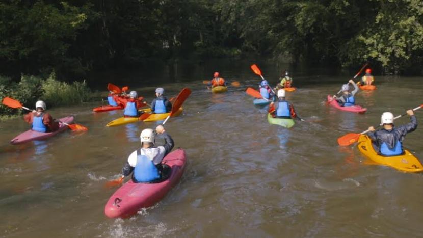 El learning by doing d'EUSES-UdG: l'assignatura 'Activitat física a la natura'