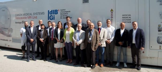 L'IDIBGI presenta el projecte de l'Imagenoma de l'Envelliment, que ha tingut la col·laboració de l'Escola Univesitària de la Salut i l'Esport