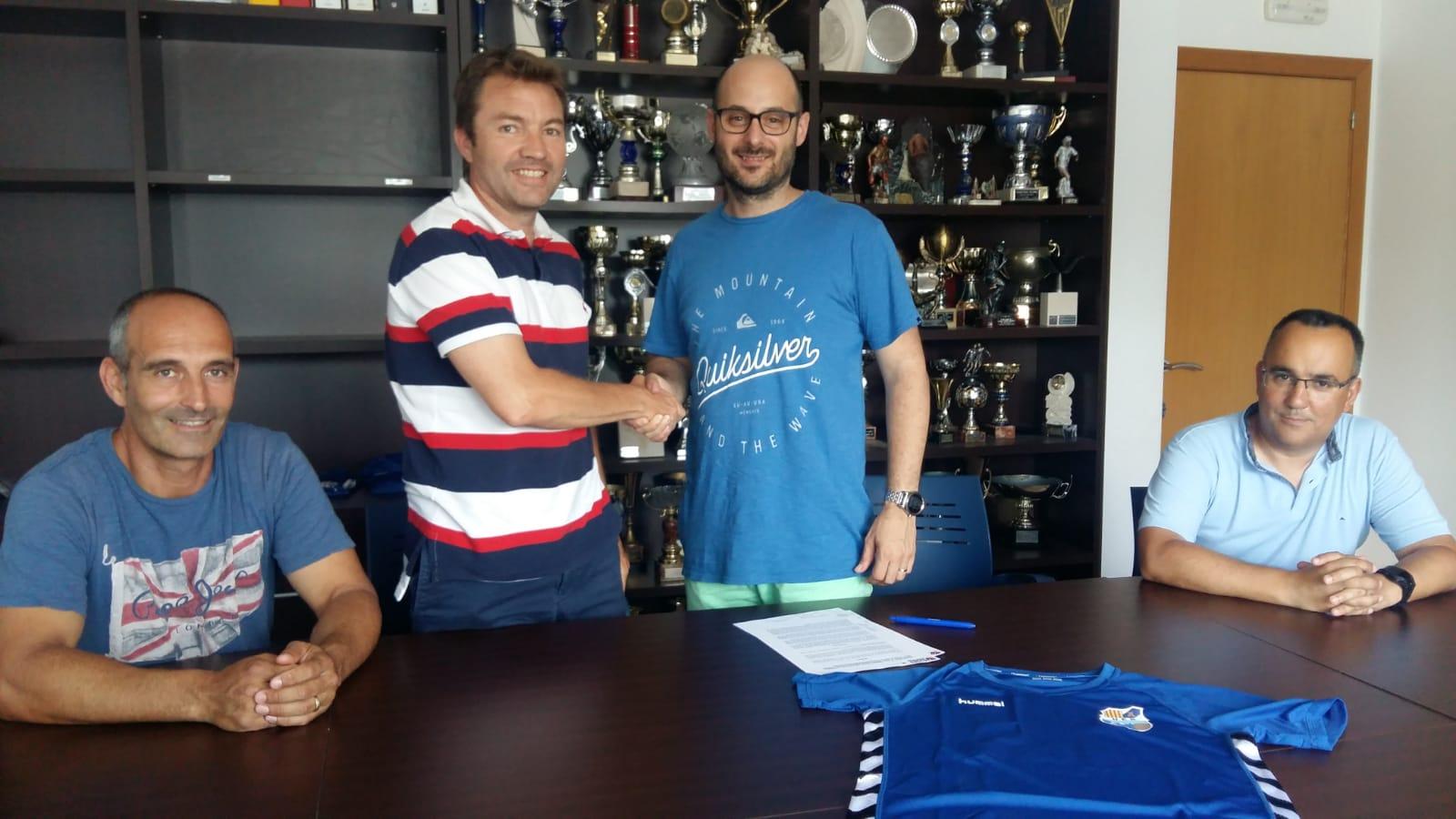 EUSES TE signa un conveni de col·laboració amb la Rapitenca per a la temporada 2018/19