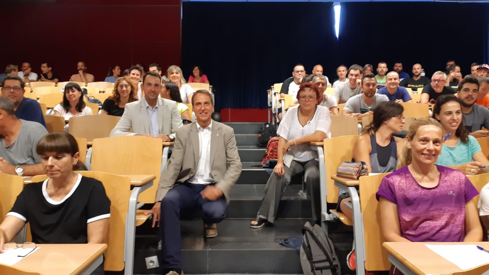 L'Escola Universitària de la Salut i l'Esport acull la II Jornada Formativa del Pla Català d'Esport a l'Escola (PCEE)