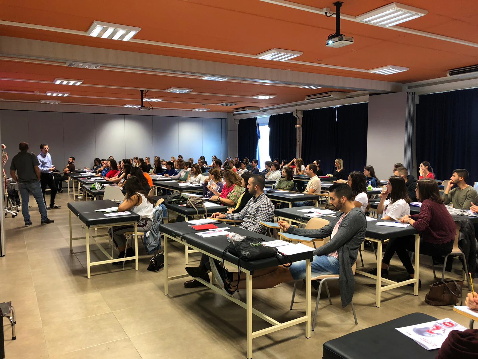 EUSES realitza la 5a Jornada de Tutors i el seminari de Raonament clínic en l'abordatge fisioterapèutic dels transtorns de l'ATM