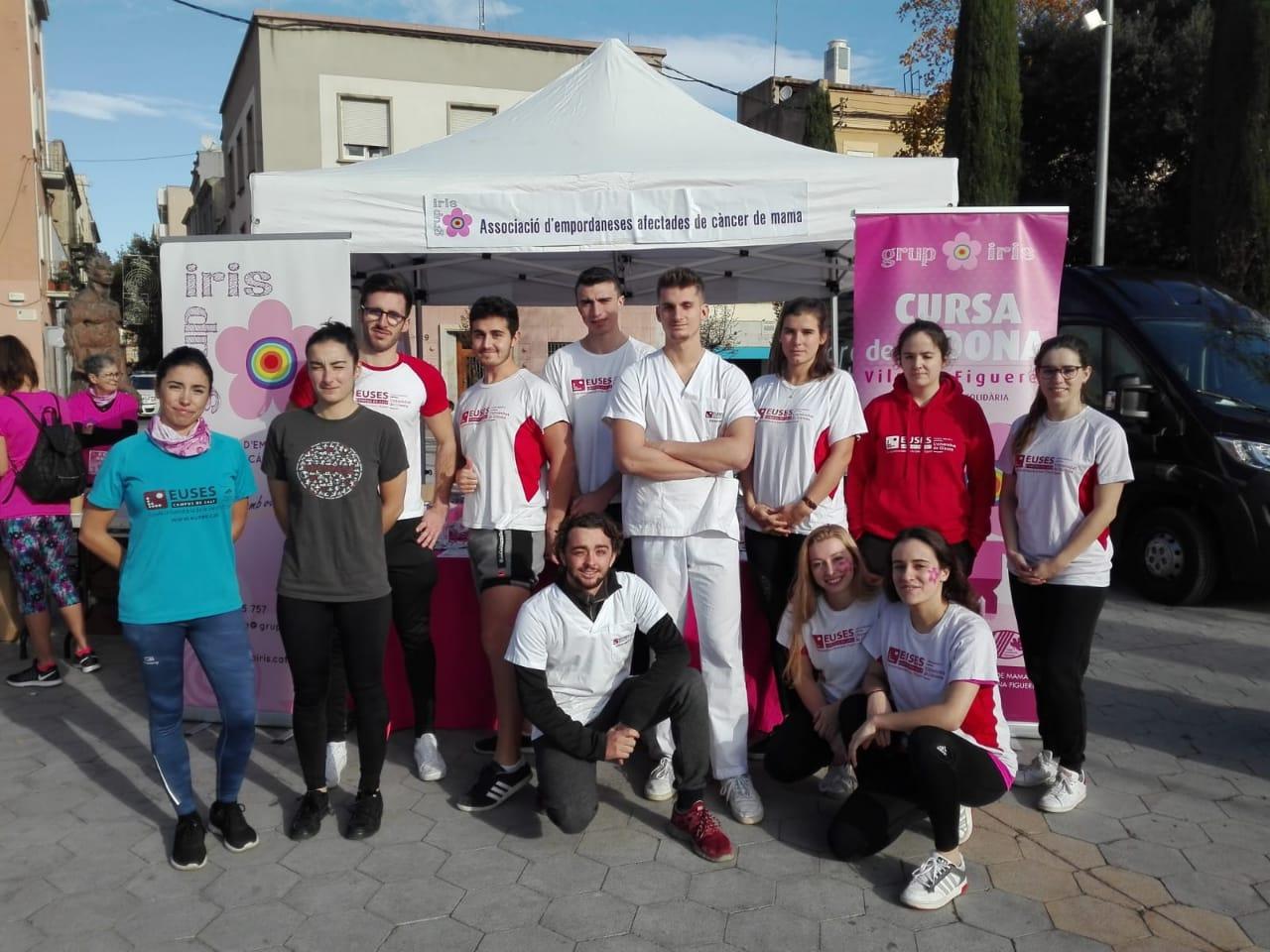 L'Escola Universitària de la Salut i l'Esport recupera els participants de la Cursa de la Dona de Figueres