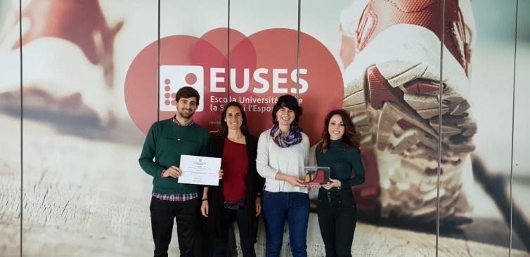 Hablamos con Raquel Font y Anna Prats, profesoras de EUSES-UdG que han ganado el premio PAAS 2018 por el proyecto 'Physical Education Health and Children'