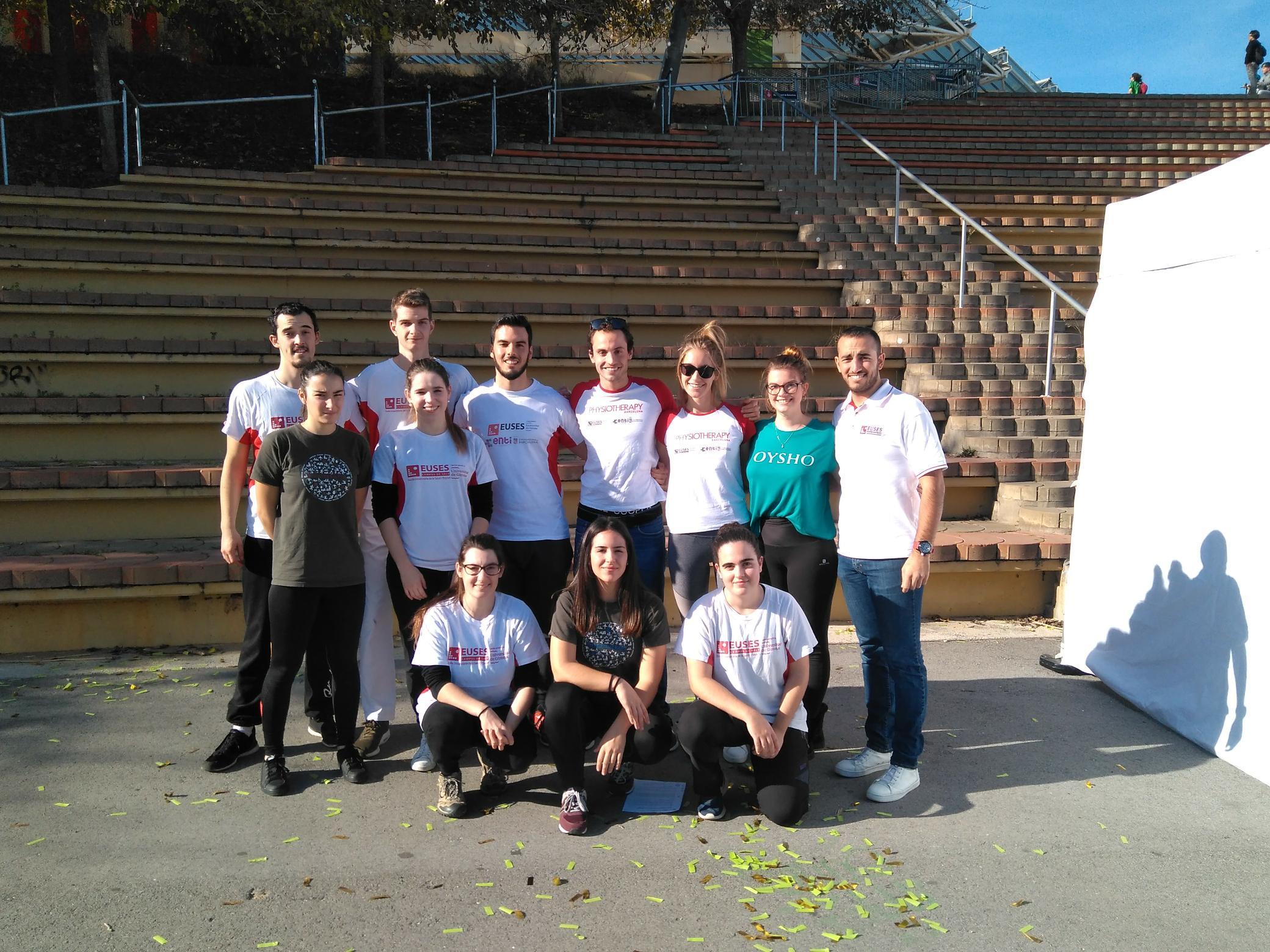 L'Escola Universitària de la Salut i l'Esport col·labora en la recuperació dels esportistes en la cursa AECC de Barcelona