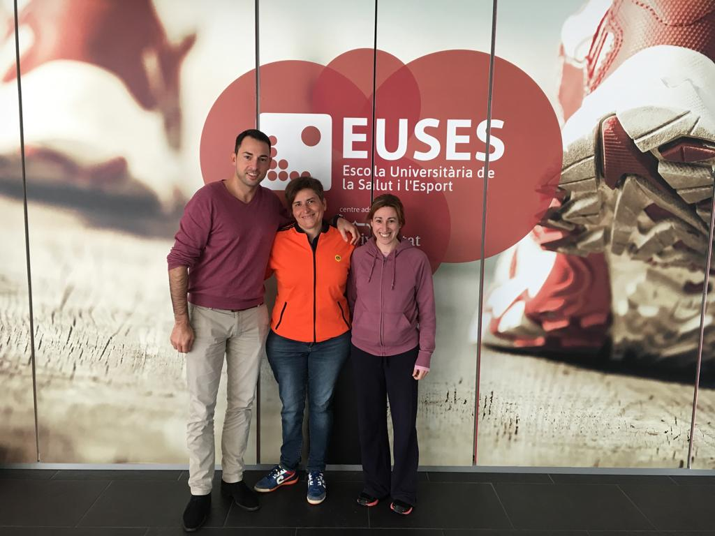 Esther Eroles, medallista paralímpica a Seül i Directora de Projectes de la Fundació Cruyff comparteix la seva experiència esportiva i professional amb els estudiants de 3r de CAFE