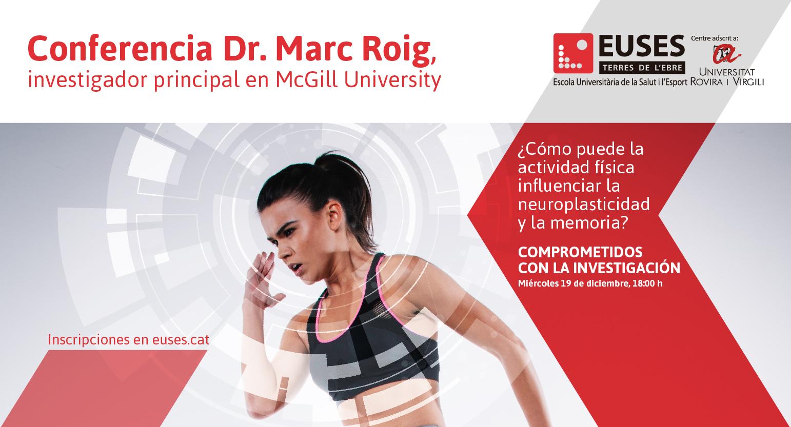 Ejercicio para cambiar el cerebro • Conferencia de Marc Roig (McGill University)